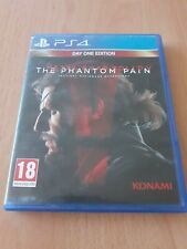 PS4 Metal Gear Solid V The Phantom Pain Day One Edition video juego PEGI 18