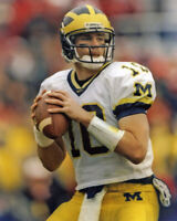 Michigan Wolverines TOM BRADY Glossy 8x10 Photo College Football Print Poster