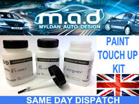 FIESTA ST ALLOY WHEEL TOUCH UP PAINT KIT BRUSH FORD CURBING ST-2 ST-3 RADO GREY