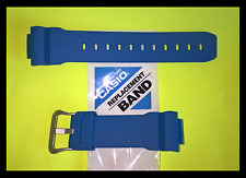 CASIO G-SHOCK BLUE SMURF STRAP / BAND DW6900 MM-2 SCARCE - FITS GW6900 DW5600