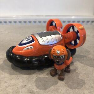 Paw Patrol Zuma Hovercraft Vehicle & Zuma Pup Figure