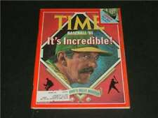 Time May 11 '81 Billy Martin Cover, Baseball '81                        ID:2045