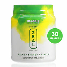 Zurvita Zeal for Life Classic Lemon Lime 30-Day Drink Mix (420gr) - 04/2021!