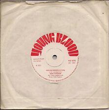 "Don Fardon Indian Reservation UK 45 7"" single +Hudson Bay"