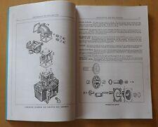 Motor de sello rojo continental. instalación En El Tanque. Manual De Motor.R975EC2.