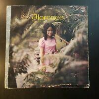 "Florence Aguilar ""Florence"" Vinyl Record LP ***RARE PHILLIPINE LP"