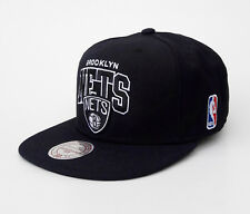 Mitchell & Ness Snapback Basecap Brooklyn Nets NBA schwarz