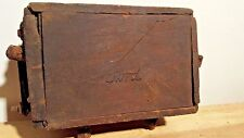 Antique 1900'S Ford Model-T/ Model-A Wood, Wooden Box Ignition Coil Automobile