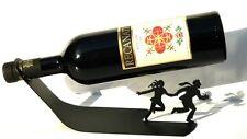 Wine Bottle Holder Metal Stand /Rack Modern Chic Design Bar Kitchen Home Display