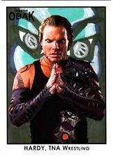 TNA Jeff Hardy X2 2010 Xtreme OBAK Retro Card Short Print /310 FD