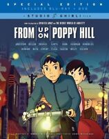 From Up on Poppy Hill (Blu-ray / DVD Combo Pack) DVD, Gillian Anderson, Chris No