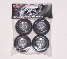 GMP 1/18 Keystone wheel set with firestone 500 Drag tires Diorama G1800167
