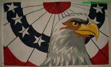 3'x5' Patriotic Eagle Military Vets Flag USA Veterans US Pride Old Glory New 3X5