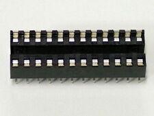 24 Pin Skinny IC Socket - NOS - Lot of 5