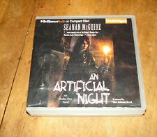 AN ARTIFICIAL NIGHT by SEANAN McGUIRE UNABRIDGED CD  October Dave Novel