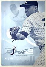 Vintage Original Derek Jeter DJTURN2 New York Yankees 2000 NIKE POSTER