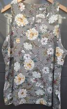Glamours - Womens Top Size 20 Grey Floral NWT