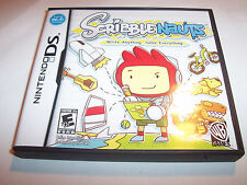 Scribblenauts Nintendo DS Lite DSi XL 3DS 2DS w/Case & Manual