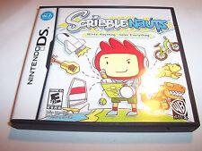Scribblenauts Nintendo DS Lite DSi XL 3DS 2DS w/Case & Manual