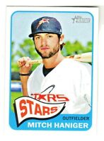 2014 Topps Heritage Minors #64 MITCH HANIGER RC Rookie Seattle Mariners