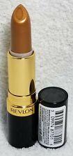 Revlon Super Lustrous Lipstick GOLD GODDESS Pearl #041 Full Size .15 oz/4.2g New