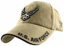 U.S.A.F. US AIR FORCE KHAKI OFFICIALLY LICENSED Military Hat baseball Cap