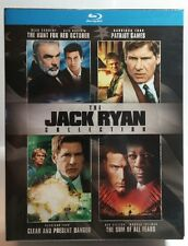 The Jack Ryan Special Edition Collection(Blu-ray Disc,2007)4 Movies-NEW-Free S&H