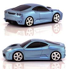 Reino Unido 2.4 ghz Wireless 3d 1600dpi coches Ferrari Estilo forma Óptico Inalámbrico Usb Mouse