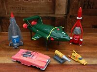 Thunderbirds Vehicle Super Set - Thunderbird 1 2 3 4 FAB1 - Soundtech 2000 Retro