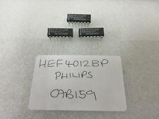 Hef4012bp DUAL 4-INPUT NAND GATE PHILIPS dip-14 x2pcs