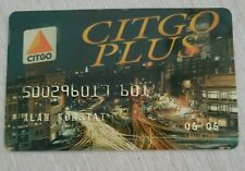 Rare Citgo Gas credit card mint condition, Not signed - unsigned