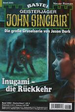 JOHN SINCLAIR ROMAN Nr. 2062 - Inugami - die Rückkehr - Ian Rolf Hill - NEU