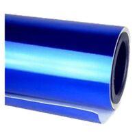 Chrome Mirror Vinyl Film Wrap Sticker Decal Stretchable Reflective 152x20cm b CL