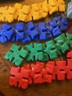 Discovery toys vintage 23 piece Interlocking colorful toys! 1987