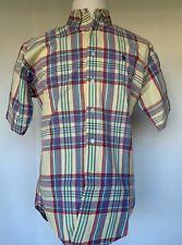 Polo Ralph Lauren Short Sleeve Men's Shirt Plaid Size Size M