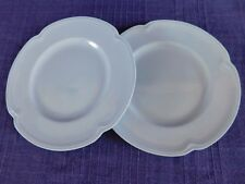 AS IS Johnson Brothers Greydawn Blue (2) BREAD PLATEs SET of TWO have more items