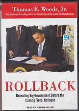 ROLLBACK - REPEALING BIG GOVERNMENT BEFORE THE COMING FISCAL COLLAPSE..MP3 CD