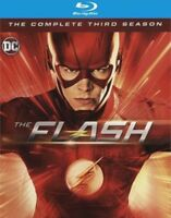 THE FLASH THE COMPLETE THIRD SEASON(BLU-RAY+DIGITAL HD)BRAND NEW