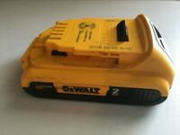 DEWALT 20-Volt MAX Lithium-Ion Compact Battery Pack 2.0Ah (2-Pack) DCB203 TESTED