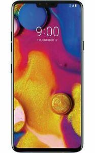 """LG V40 ThinQ V405 6.4"""" 64GB Android TMOBILE GSM UNLOCKED Smartphone Black Blue"""