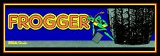 "6"" Frogger vinyl sticker. Vintage video game decal for car, laptop, tumbler."