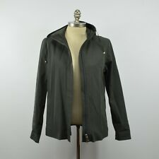 'S Max Mara Women's Italian Hooded Lycra JACKET / 42