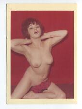 Vivienne Warren Wife Of Harrison Marks 1950 Original Color Photo  B6657