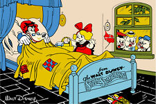 "Disney Big Bad Wolf, 3 Little Pigs, and Goldilocks 24"" X 36"" Poster"