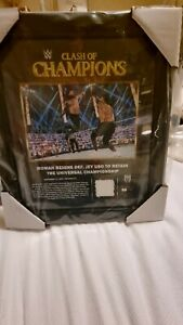 WWE Signed Limited Edition Roman Reigns Plaque