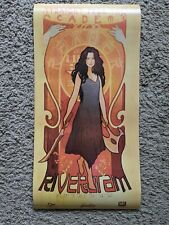 Firefly Serenity Art Nouveau Qmx River Tam Poster 24 by 12 inches