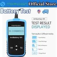Automotive Vehicle OBD2 Battery Tester 12V Cranking Charging Test 100-2000CCA