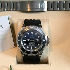 Rolex Sea-Dweller Deepsea 116660BLSO JAMES CAMERON Black/Blue Ceramic *MINT*