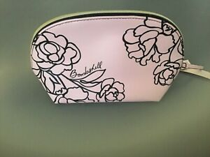 NEW PINK VICTORIA'S SECRET MAKE UP BAG COSMETIC CASE BOMBSHELL