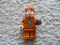 LEGO Harry Potter - Rare Fred (George) Weasley Minifig w/ Chocolate Frog - 10217
